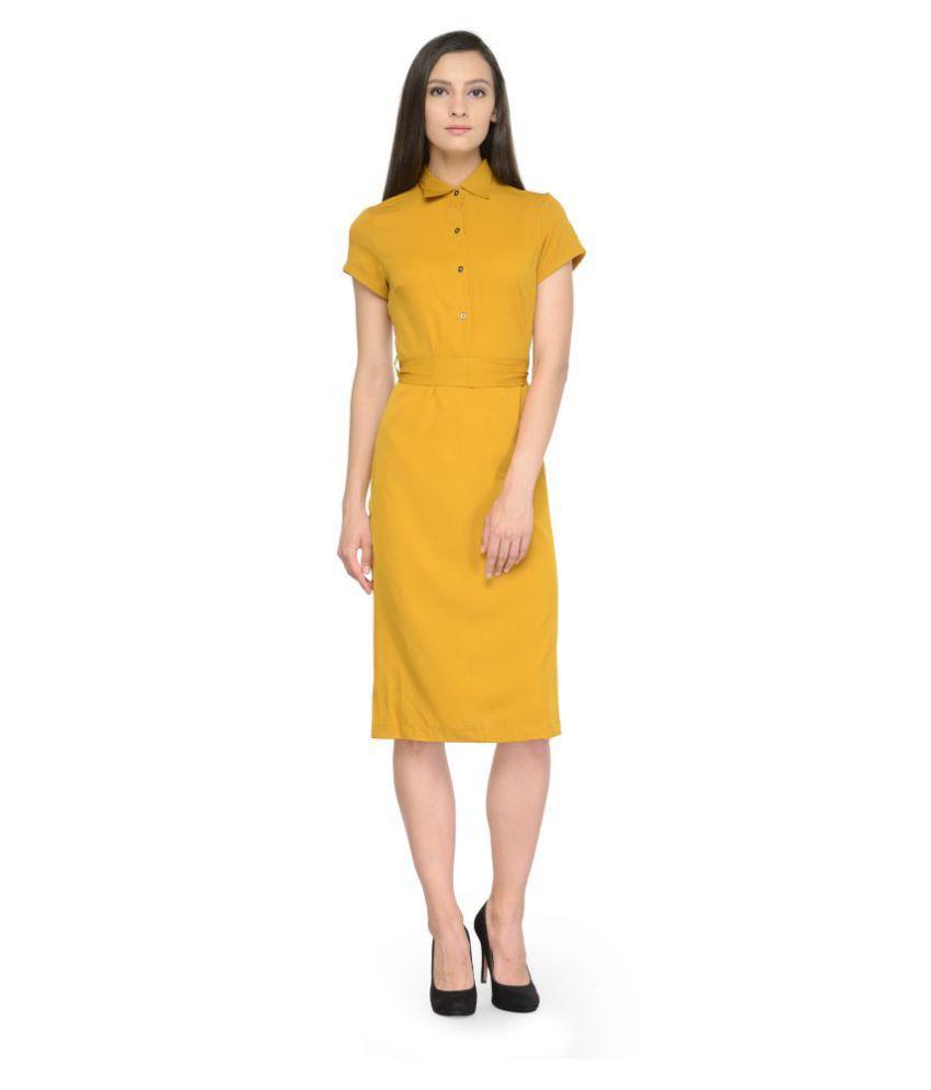Tunic nation Crepe Dresses
