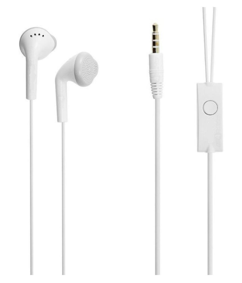Earphone For Samsung Galaxy In Ear Wired Earphones With Mic