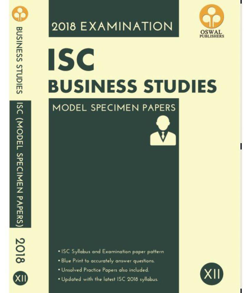 Oswal isc business studies model specimen papers for class xii oswal isc business studies model specimen papers for class xii 2018 examination malvernweather Images