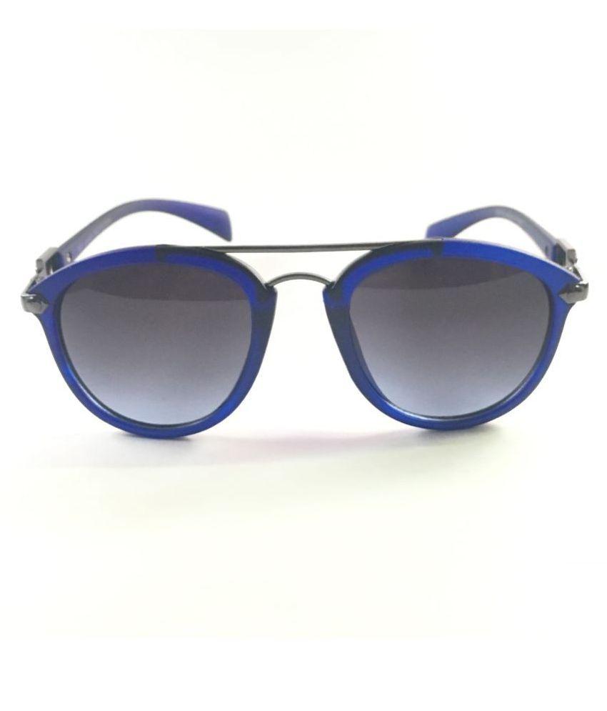 Luxury D'Allure Blue Bug Eye Sunglasses ( EN70LDA2 )