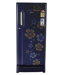 Whirlpool 185 Ltr 3 Star 200 Icemagic Powercool ROY Single Door Refrigerator - Blue