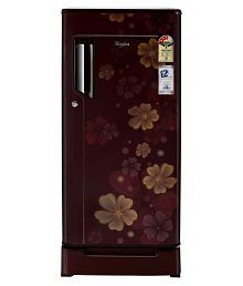 Whirlpool 185 Ltr 3 Star 200 Icemagic Powercool ROY Single Door Refrigerator - Maroon