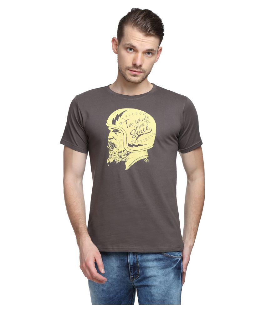 SharkTribe Grey Round T-Shirt