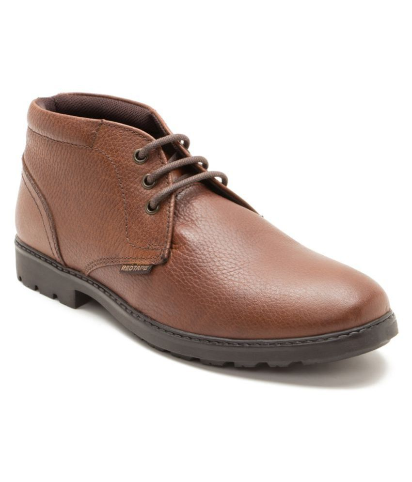 Red Tape Tan Chukka boot