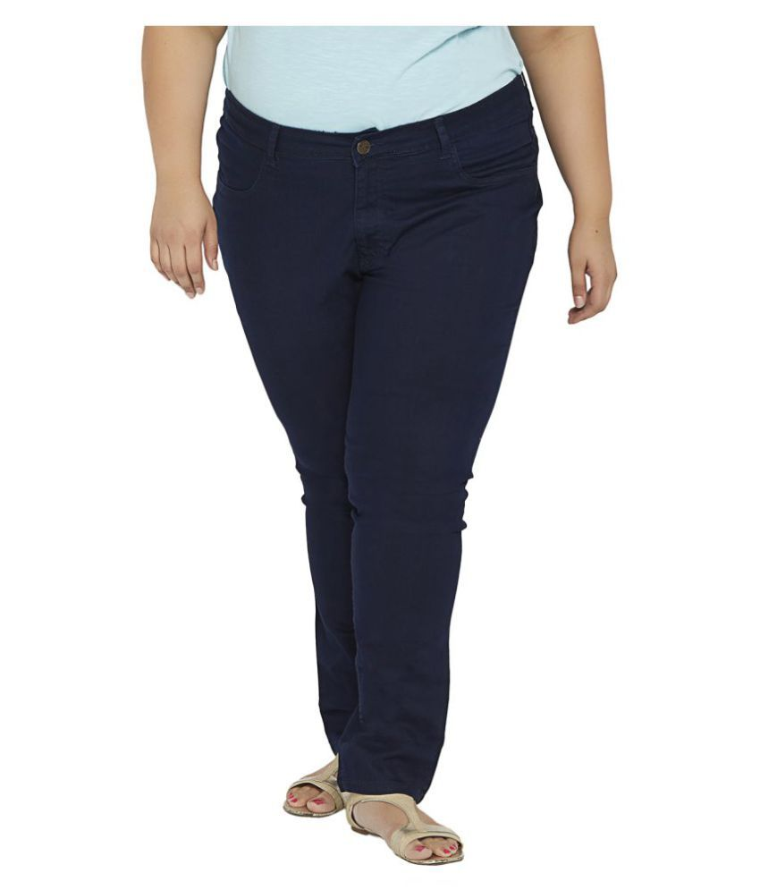 66d98cc9a16 Buy ZUSH Denim Plus Size Jeans Online at Best Prices in India - Snapdeal