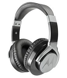 Motorola Pulse Max Over Ear Wired Headphones With Mic