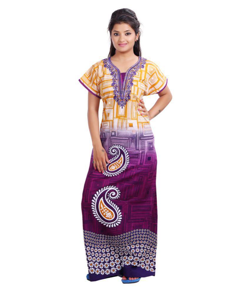 mahaarani Cotton Nighty & Night Gowns