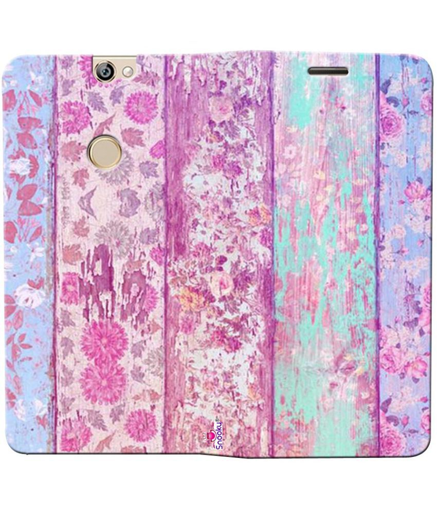 Coolpad Max Flip Cover by Snooky - Pink