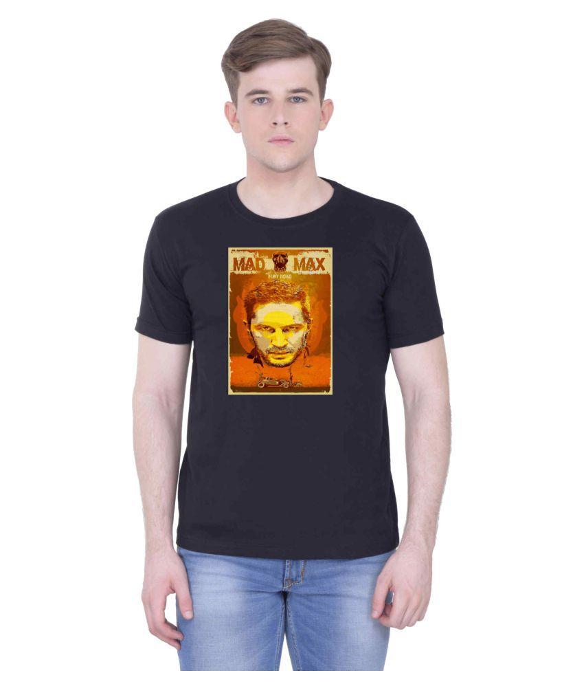 Voguestyle Black Round T-Shirt