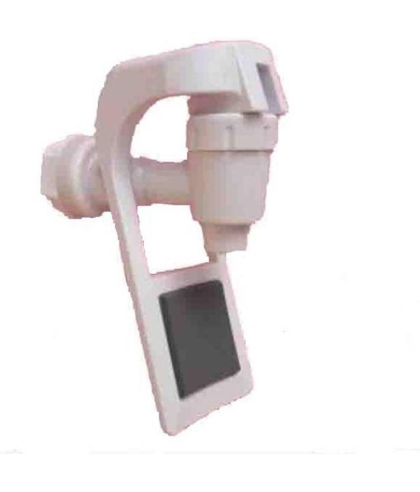 PK Aqua 2 Pcs RO White Silver Sure Aqua Crystal Tap Plastic Gadget Tool