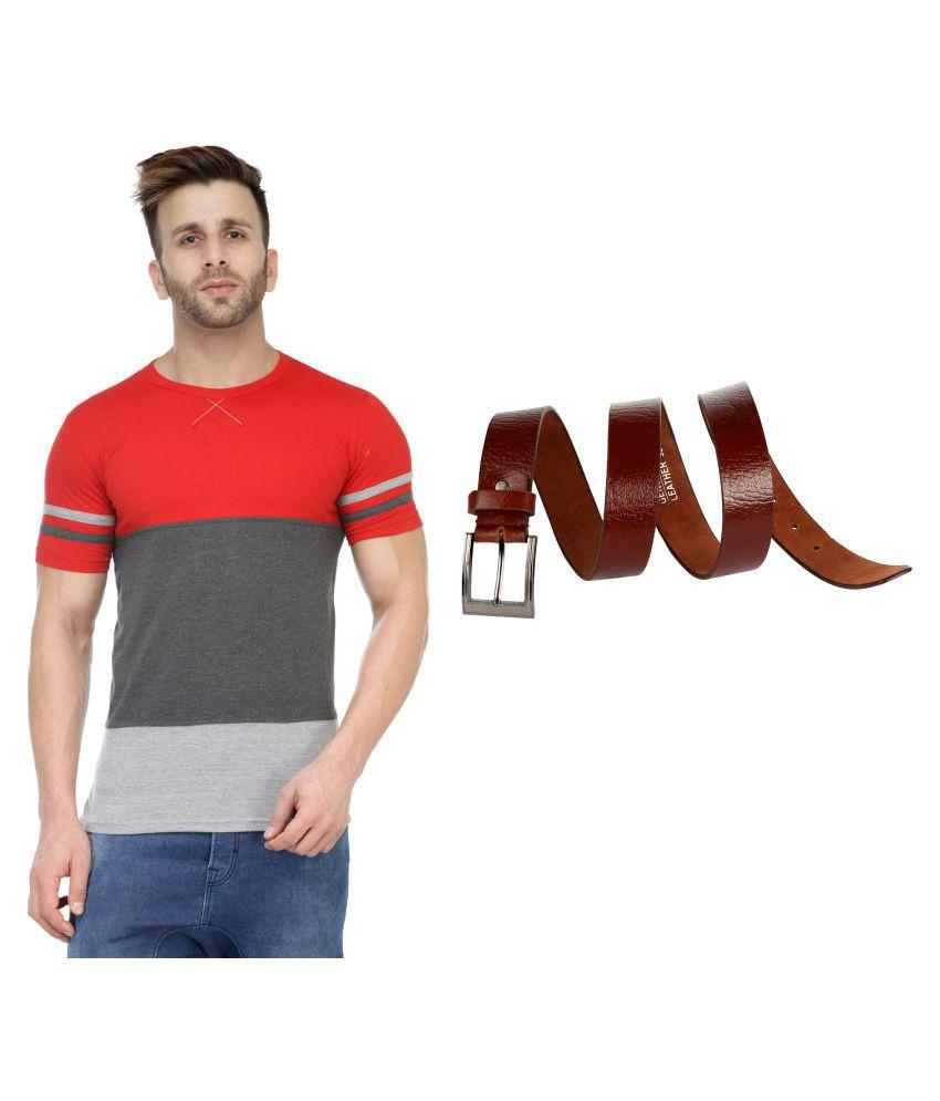 M Style Multi Round T-Shirt