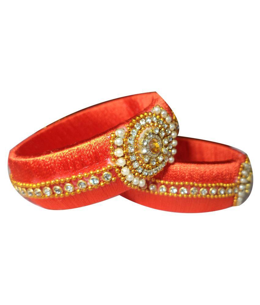Mohana silk thread designer bangles 177