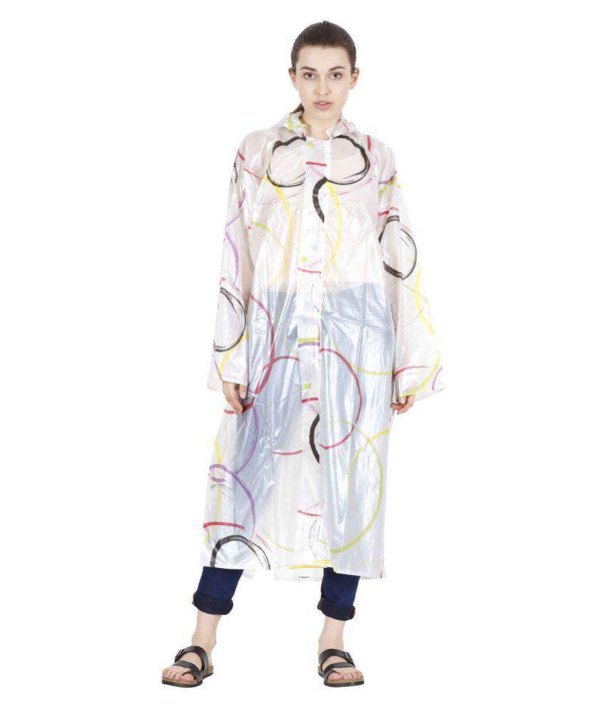 Reliable Waterproof Long Raincoat