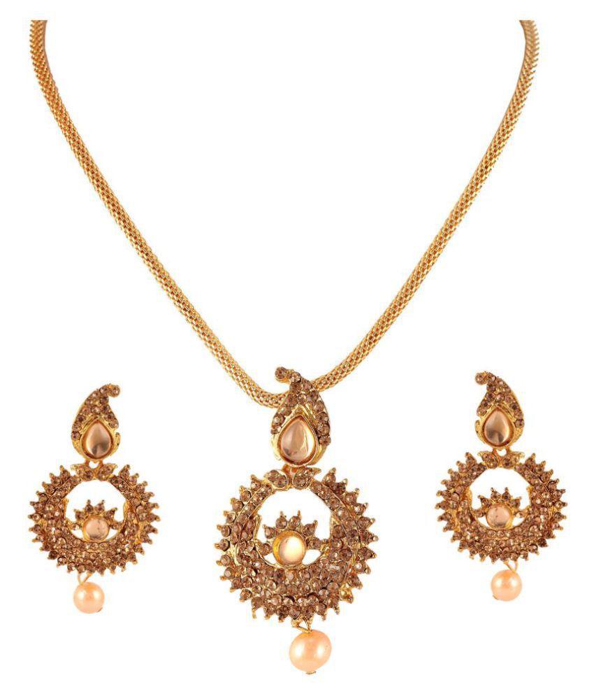 Frebule Alloy Necklace Set