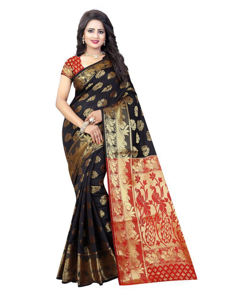 Karissa Black Banarasi Silk Saree