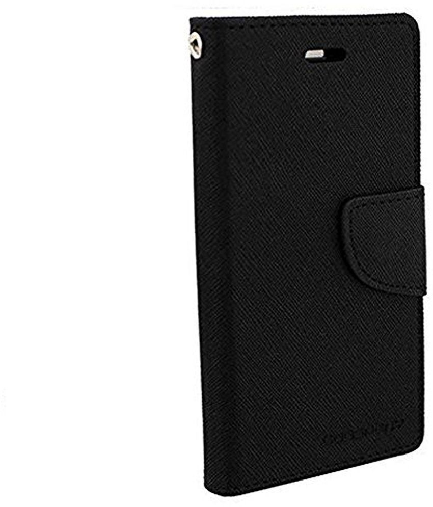 new arrival 19ac6 4e5bf Gionee A1 Flip Cover by peezer - Black