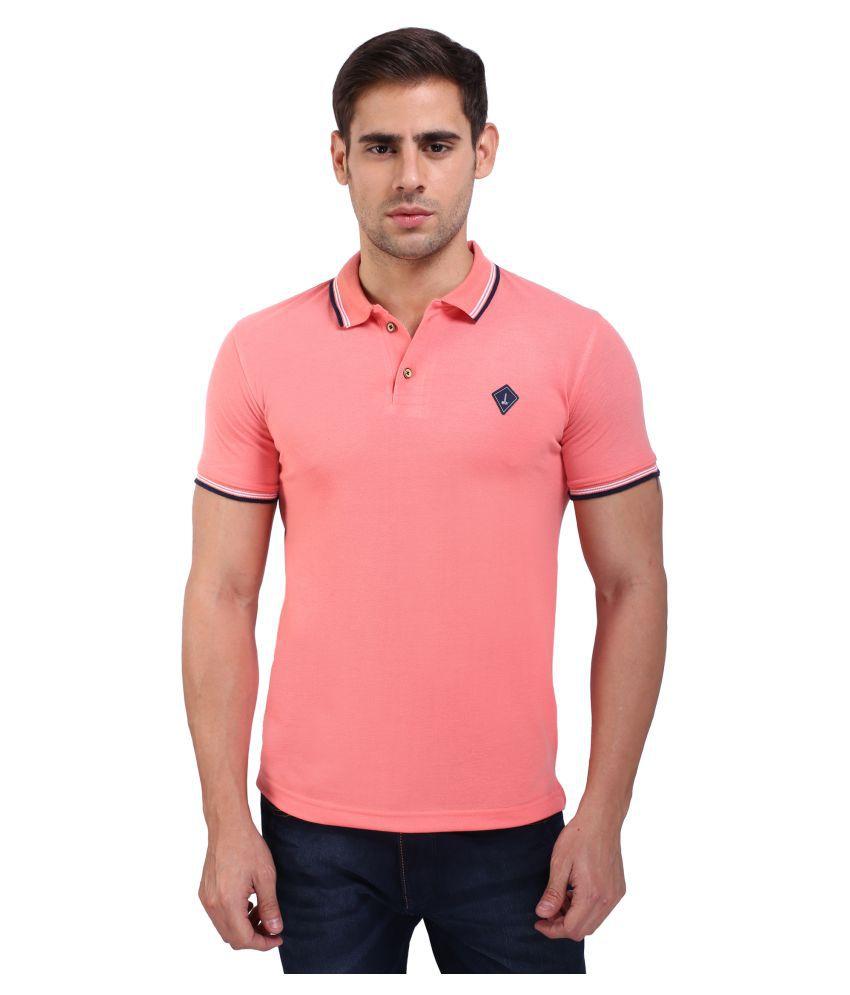 Daagwood Pink Round T-Shirt