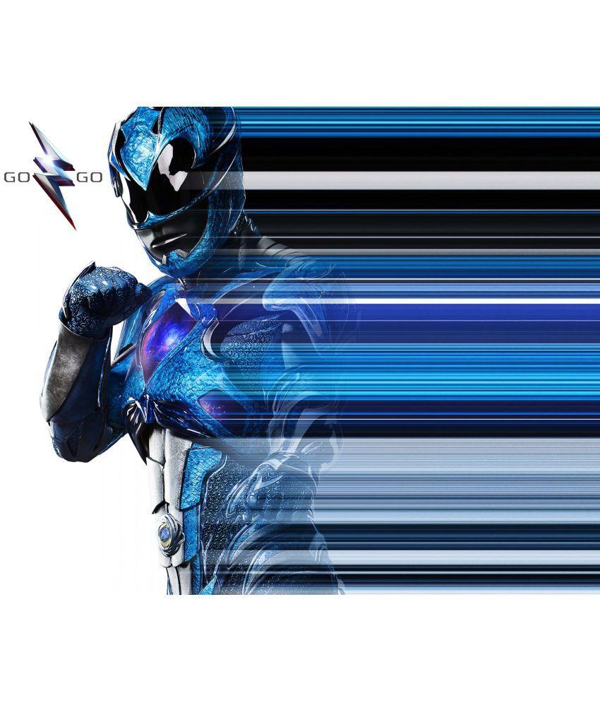 "Power Rangers Blue 17/""x26/"" poster print"