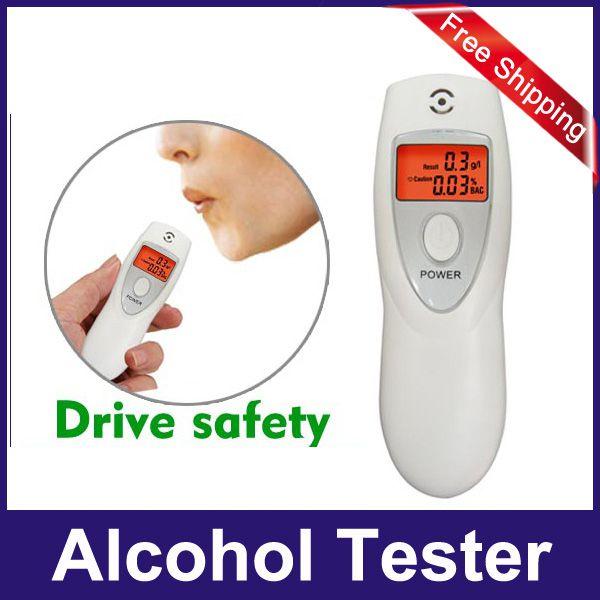Lindia White Alcohol Breath Tester