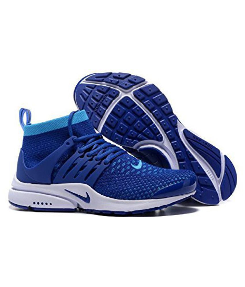 new product da9af e57ce Nike Air Presto Blue Running Shoes - Buy Nike Air Presto Blue Running Shoes  Online at Best Prices in India on Snapdeal