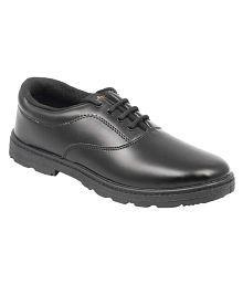 Lakhani Black School Shoe for Boys