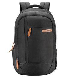 Safari Black Achiever Black Backpack
