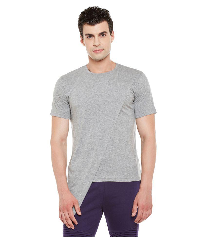 Gritstones Grey Round T-Shirt