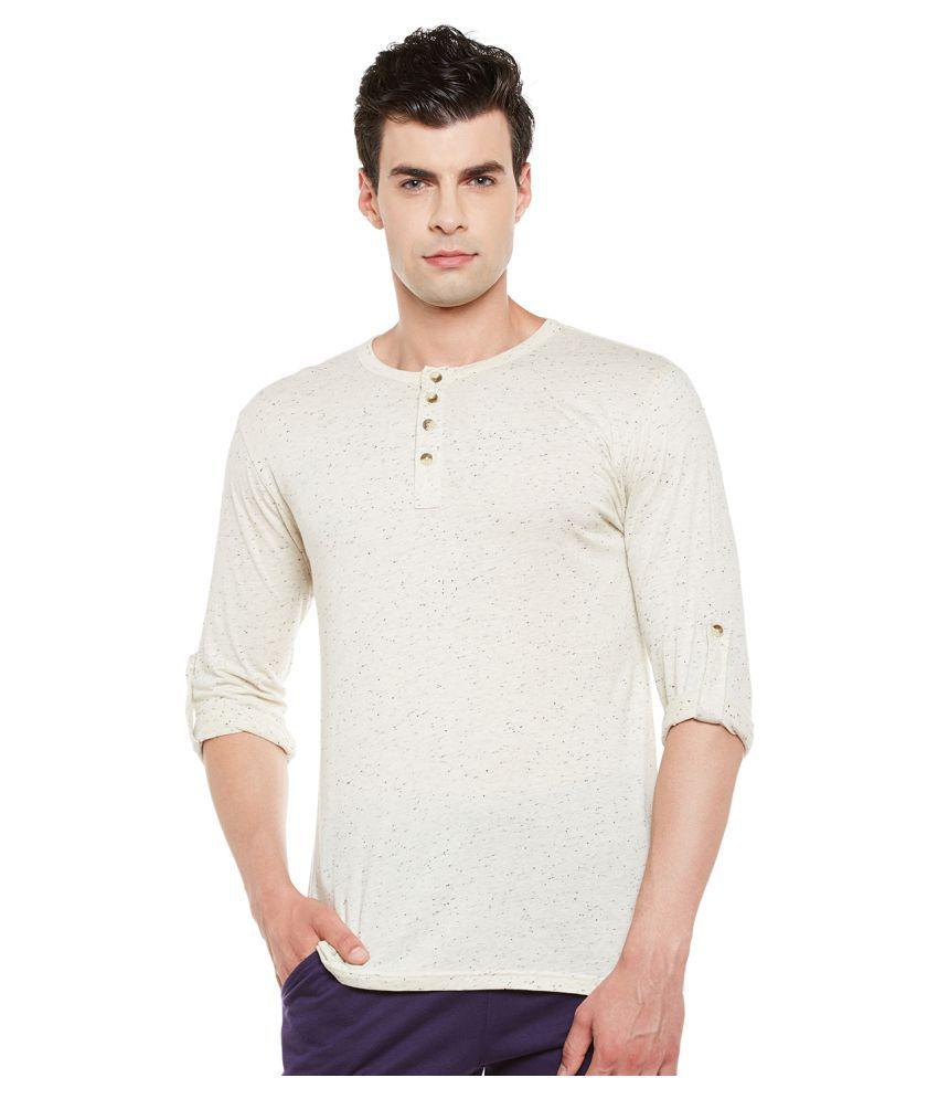 Gritstones Off-White Round T-Shirt