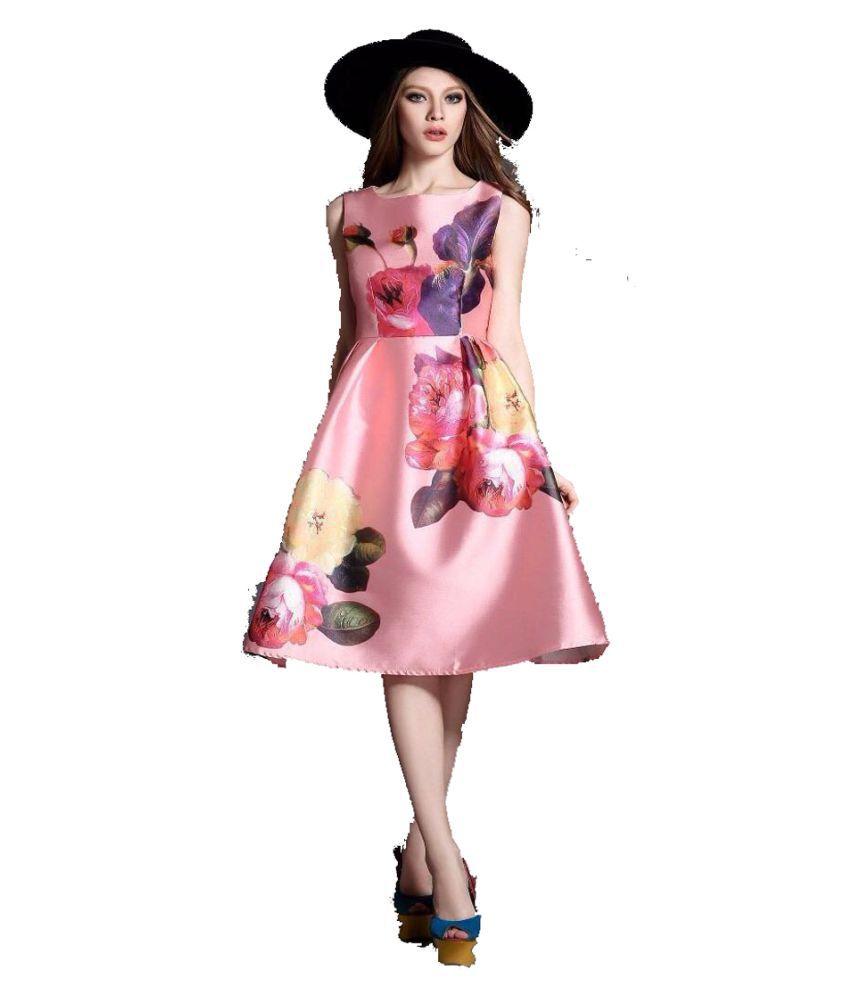 Kavya Fashion Satin Dresses