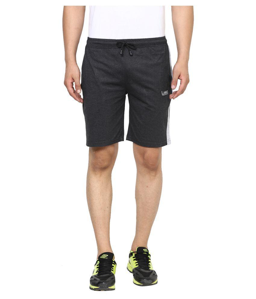 LANCE Black Shorts