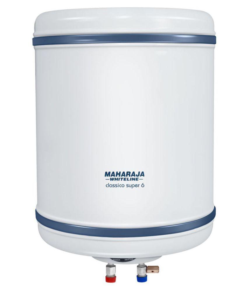 Maharaja Whiteline 10 Ltr Classico Super Storage - Geysers White