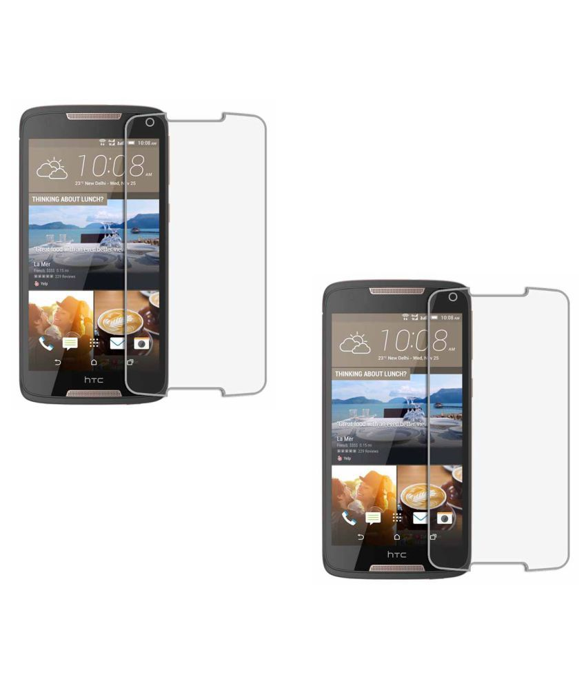 HTC Desire 828 Dual SIM Tempered Glass Screen Guard By KFDC