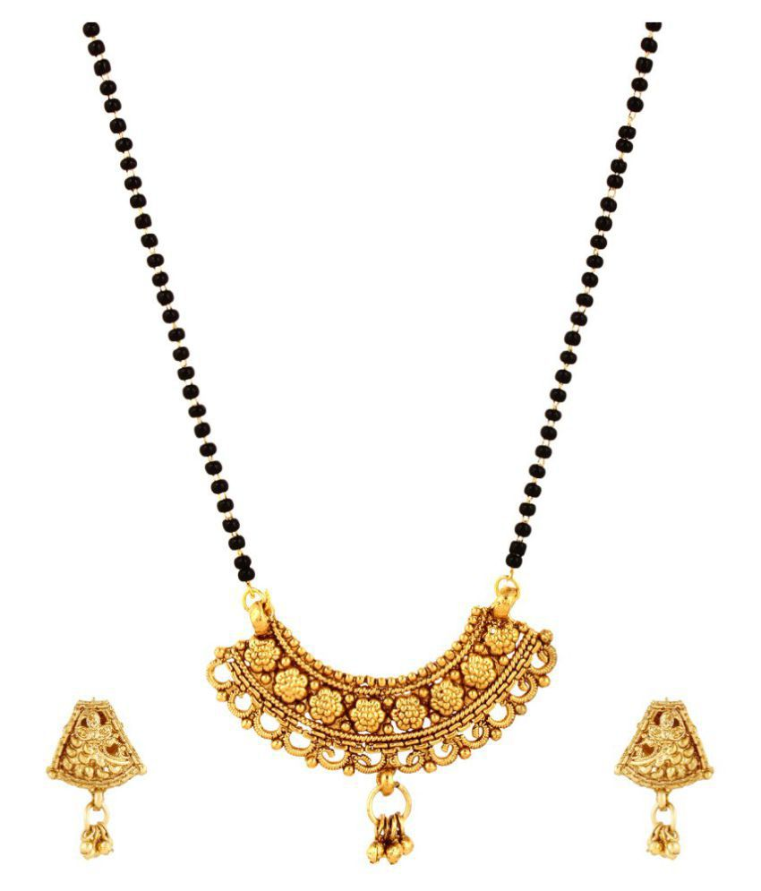 anjali necklace pendant best avsar real stone buy and swarovski online product gold