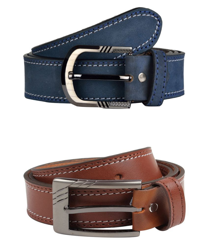 Exotique Multi Leather Combo Belts