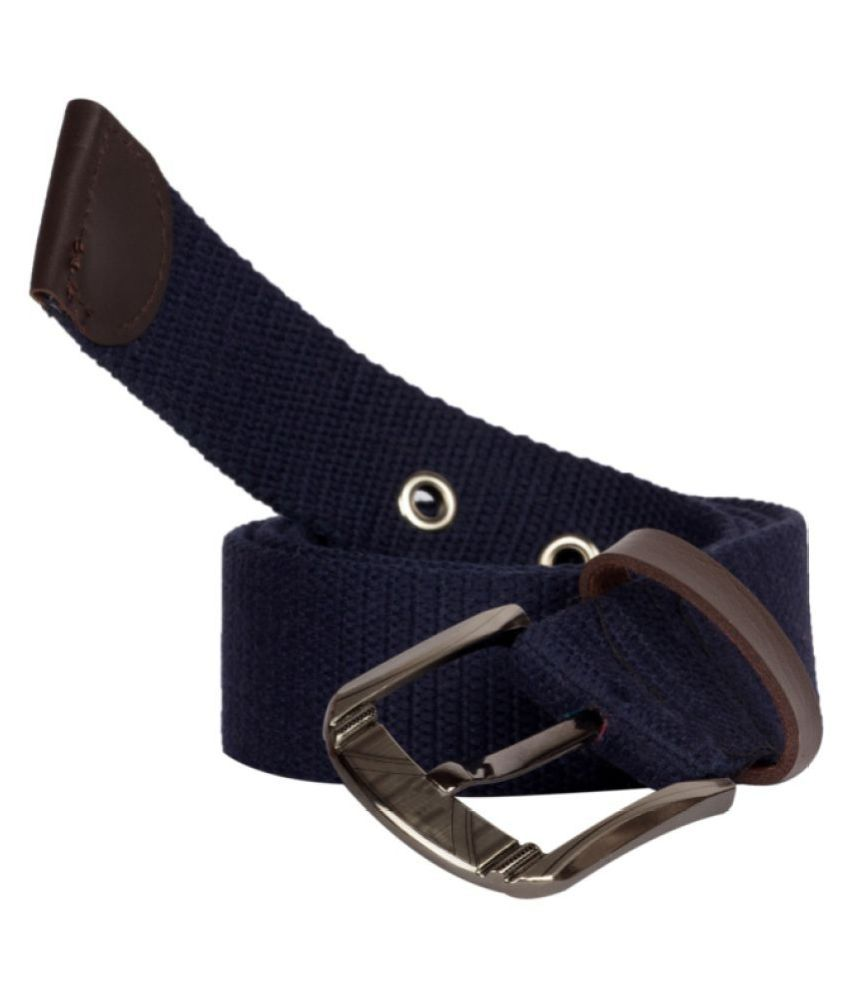 Arip Blue Faux Leather Casual Belts