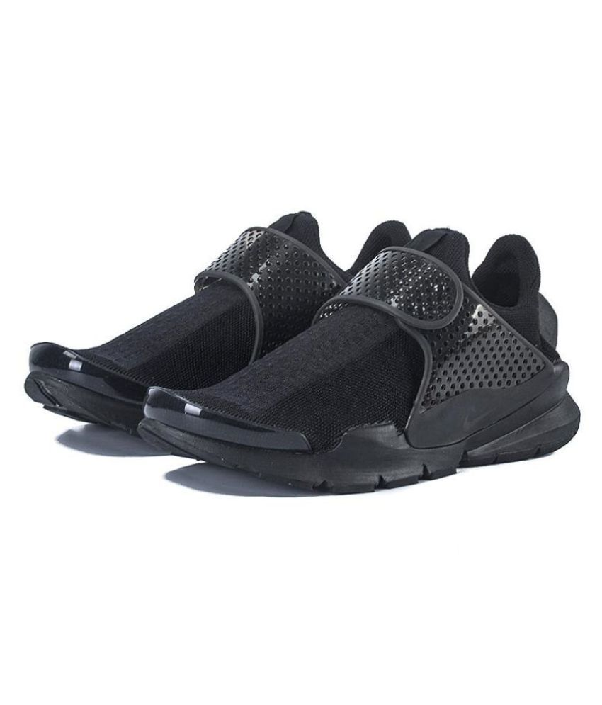 Nike Sock Dart Mens Black Running Shoes - Buy Nike Sock