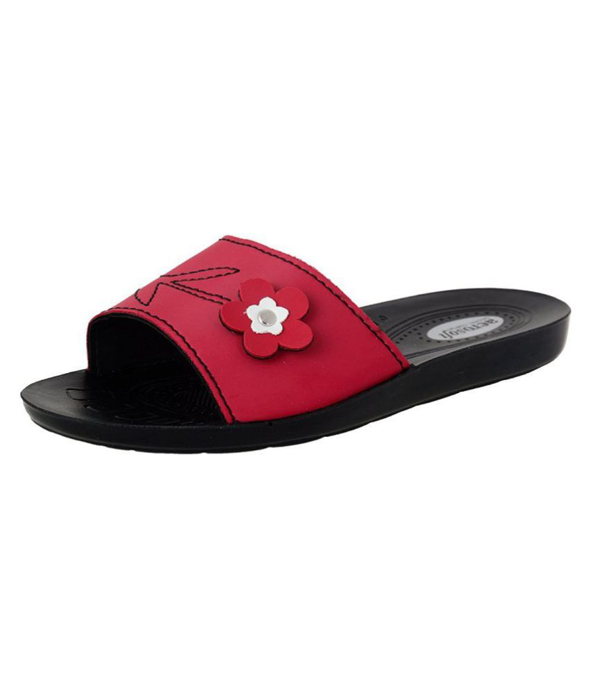 15318078451 Aerosoft Red Slippers Price in India- Buy Aerosoft Red Slippers Online at  Snapdeal