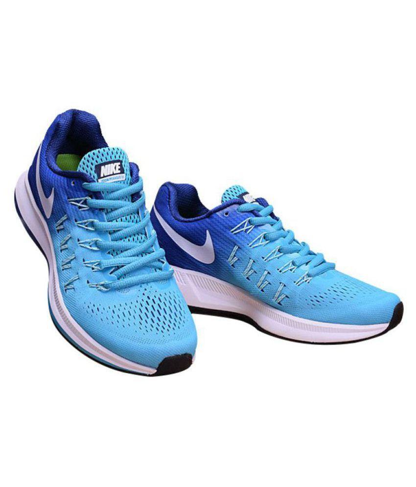 wholesale dealer 885e6 891a9 ... Nike Air NIKE Pegasus 33 Sky Blue Running Shoes ...