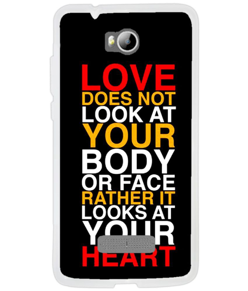Micromax Canvas Spark 3 Q385 Printed Cover By Instyler