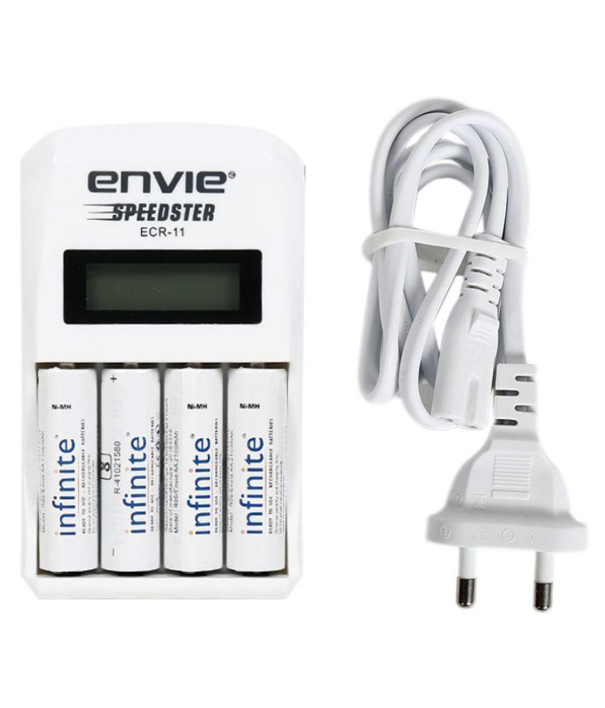 Envie Ecr 11x21004plrtu Camera Battery Charger