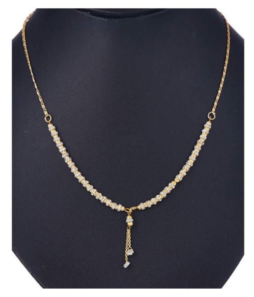 0f429e5038 J S Imitation American Diamond Mangalsutra  Buy J S Imitation American  Diamond Mangalsutra Online in India on Snapdeal