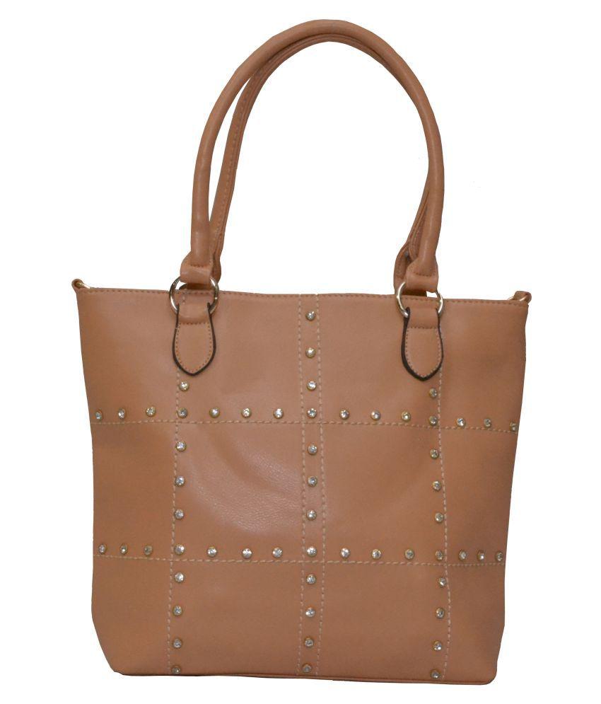 Senora Peach P.U. Satchel Bag
