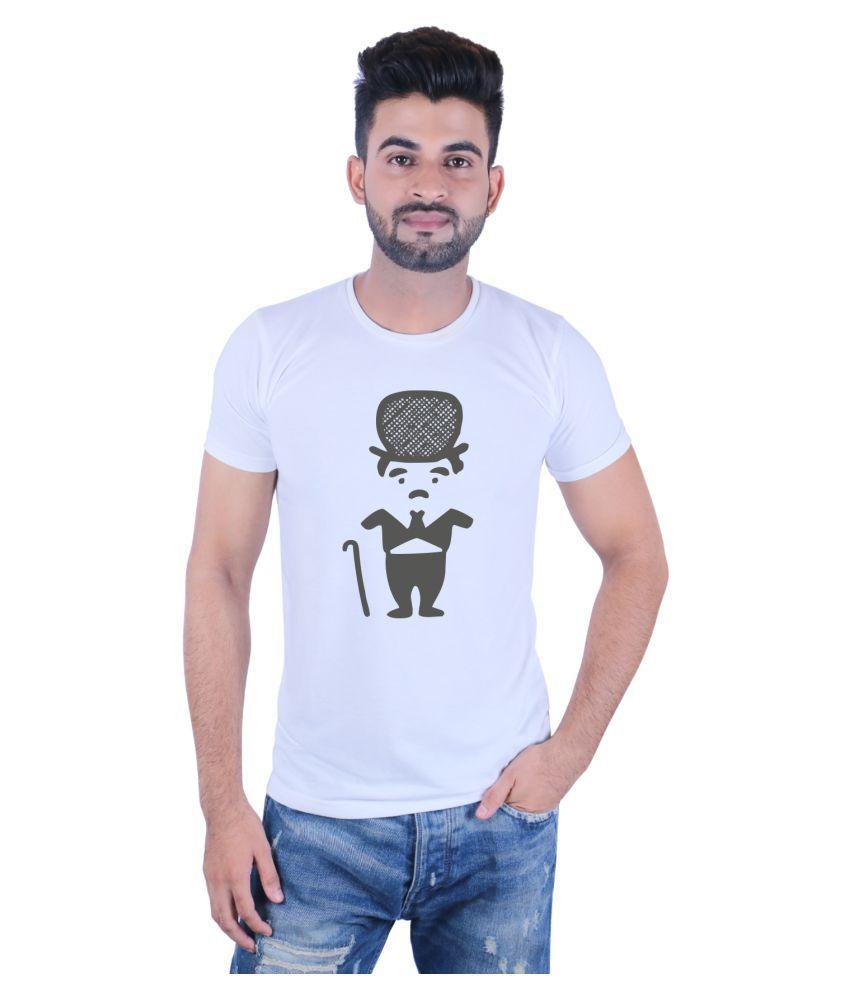 Shoe Mate White Round T-Shirt