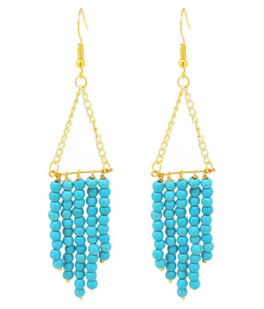 Wire Beaded Dangler Earring For Girls / Women