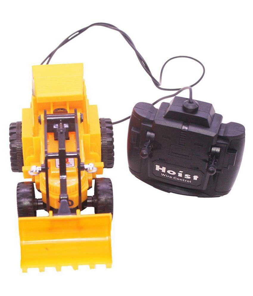 Viru Remote Control Battery Operated Jcb Crane Truck Toy Buy Viru