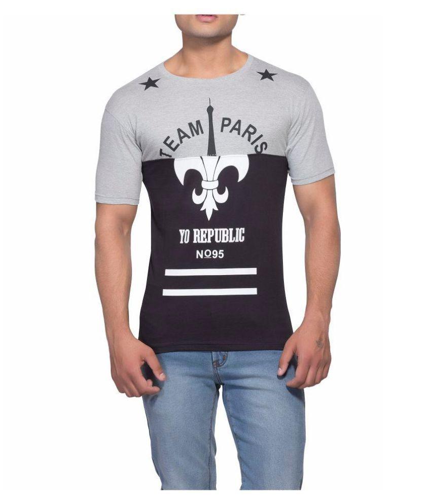 Yo Republic Green Round T-Shirt Pack of 1