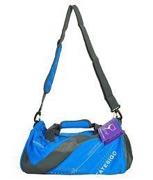 Sprint Blue Medium Nylon Gym Bag