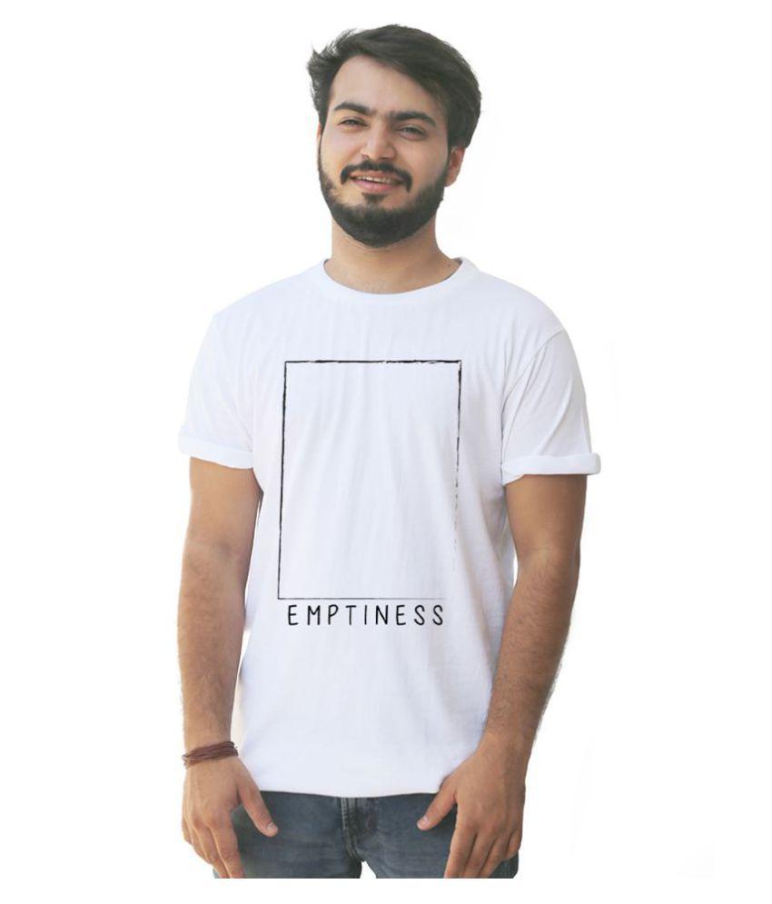 3DOTS White Round T-Shirt