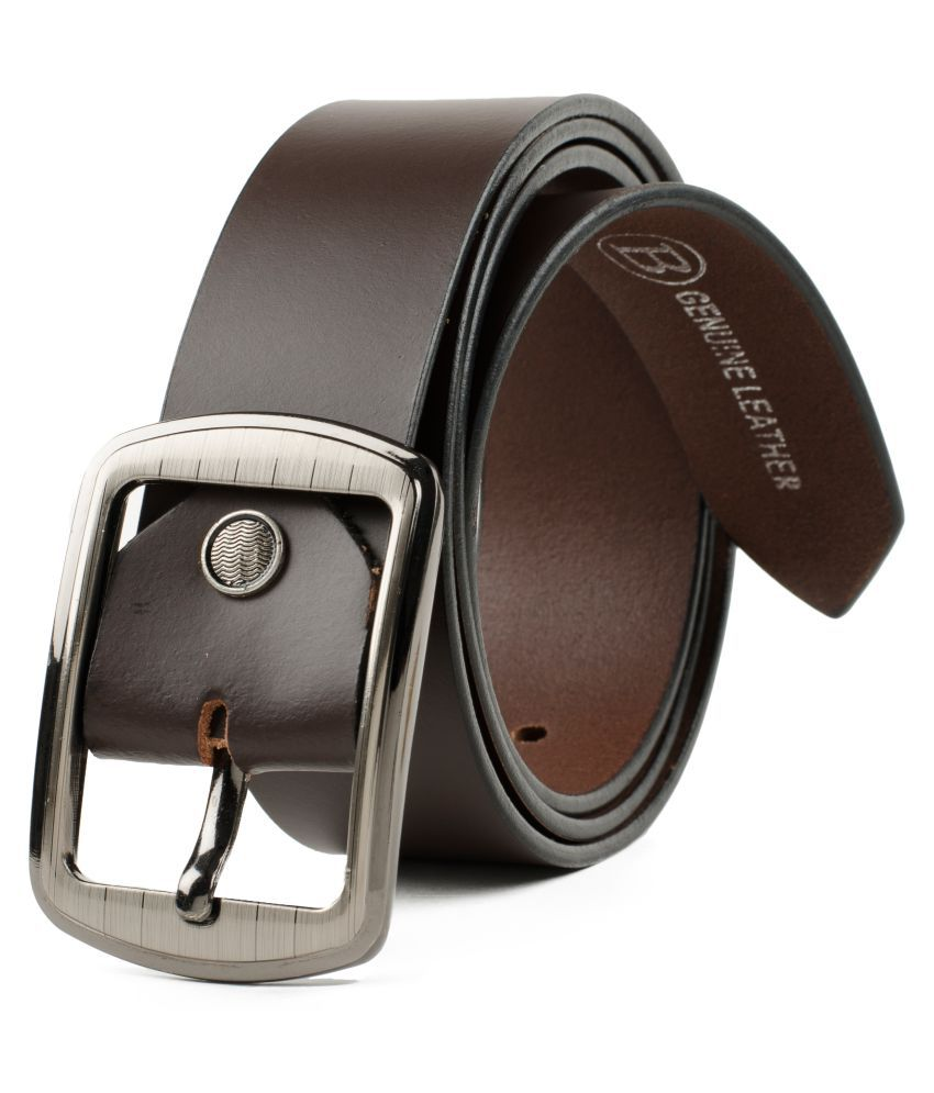 Winsome Deal Brown Leather Formal Belt