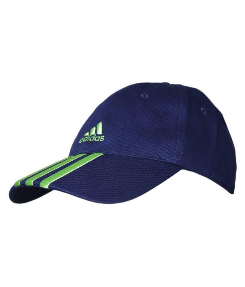 Adidas Navy Cotton Caps - Buy Online   Rs.  60b6644d60a